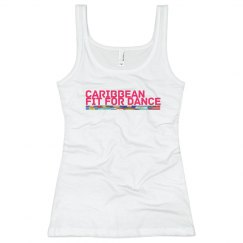 Caribbean Fit For Dance Rib Tank