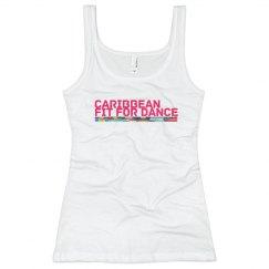Caribbean Fit For Dance Rib Tank