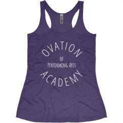 Ovation Academy Tank Purple