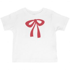Bow Tie Tee for Girls