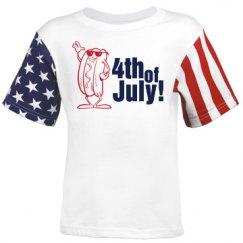 4th of July Hotdog Toon