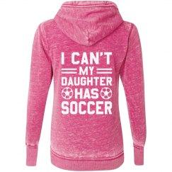 Busy Soccer Mom Hoodie