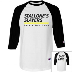 Triathlon Baseball Shirt