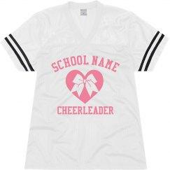 Custom Cheerleader School Jersey