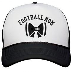 Bow Football Mom Hat