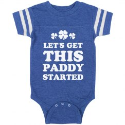 Let's Get This Paddy Started