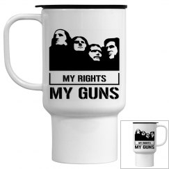 My Rights My Guns Travel Mug