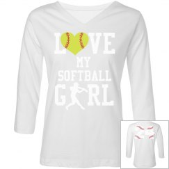 Love My Softball Girl