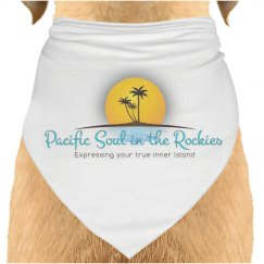 Pacific Soul in the Rockies Dog Bandana