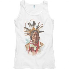 Blackfoot Sioux Chief: Many Horns Tank Top