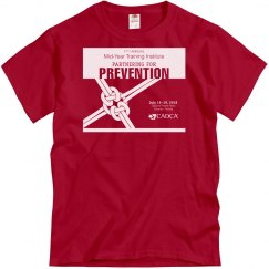 17th Annual Mid-Year Mens T-Shirt- True Red
