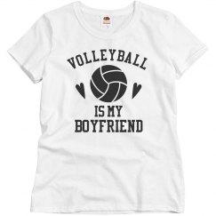 Volleyball is my Boyfriend