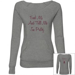 Feed/Pretty sweatshirt