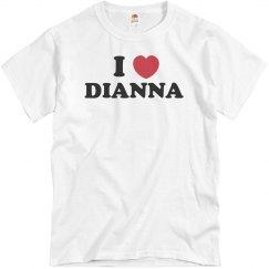 I love Dianna