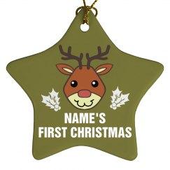 Baby Deer 1st Christmas