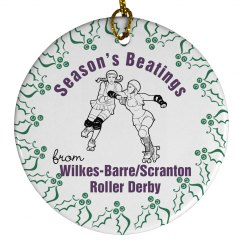 WBSRD Season's Beatings Ornament