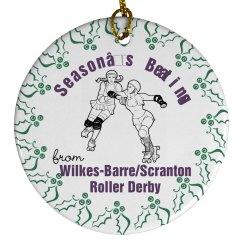WBSRD Season's Beatings Ornament