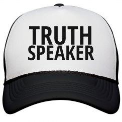 Truth Speaker Trucker Hat