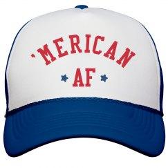 American AF Star Snap Back