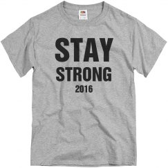 Say Strong 2016