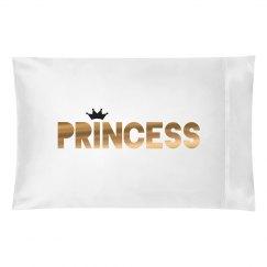 Metallic Princess Matching Pillow