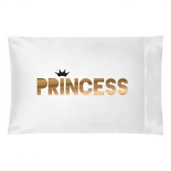 Metallic Princess Matching Pillow
