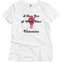 Love you a watt valentine