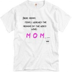 DEAR MOMMY