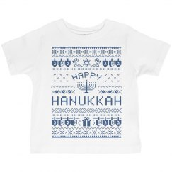 Happy Hanukkah Toddler