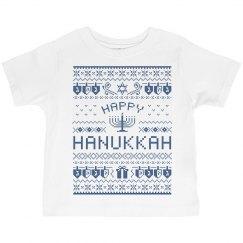 Happy Hanukkah Toddler