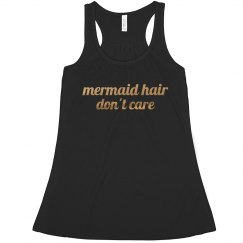 mermaid hair, don't care