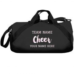Custom Shiny Cheer Team