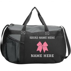Custom Cheer Squad Cheerleader Bag