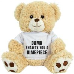 Valentines Day Gift Bear Shawty