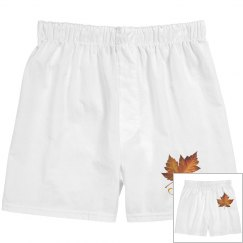 Canada Maple Leaf Underwear Men's Canada Boxer Shorts