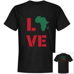 Africa Love. Black Lives Matter