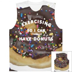 Exercise For Donuts all Over Print