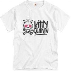 Men's Kitty Quinn Tee White