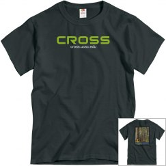 CROSS tees-logo front