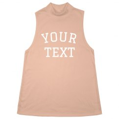 Personalized Halter Neck Tank