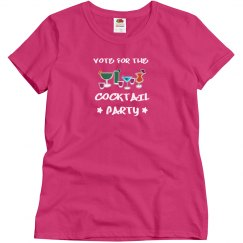 Vote For The Cocktail Party
