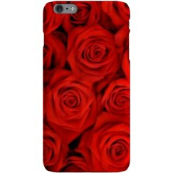 Red rose phone case.