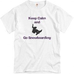 Keep Calm and Snowboard