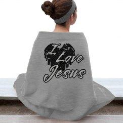 Distressed I Love Jesus