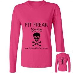 FIT FREAK SoFlo long sleeve crew neck shirt
