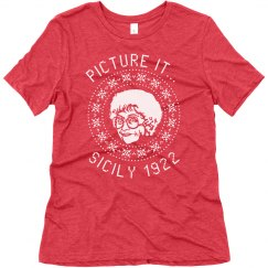 Sohpia Golden Girls Ugly Chrismas T-Shirt