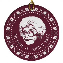 Sohpia Golden Girls Ornament