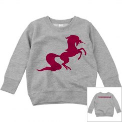 Unicorn toddler sweatshirt