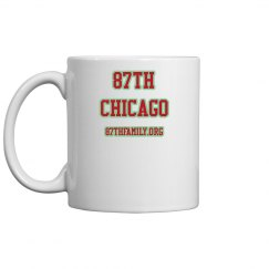 87TH COFFEE MUG