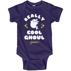 Really Cool Ghoul Custom Onesie
